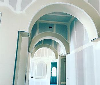 Декоративные арки из гипсокартона