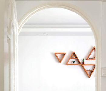 Дверная арка из гипсокартона