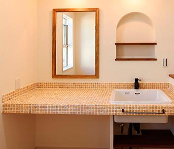 Ниша в ванной из гипсокартона