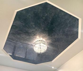 Двухуровневый гипсокартонный потолок