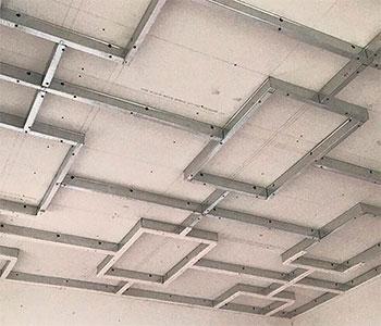 Потолок из гипсокартона своими руками этап #1