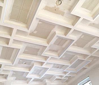 Потолок из гипсокартона своими руками этап #3