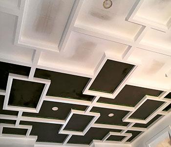 Потолок из гипсокартона своими руками этап #4