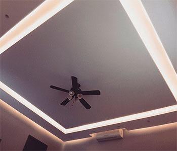 Потолок из гипсокартона галерея #4
