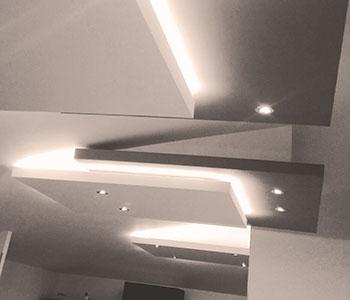 Гипсокартонные потолки галерея #8