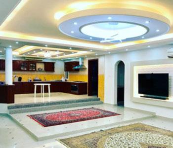 Потолок в особняке на рублевке
